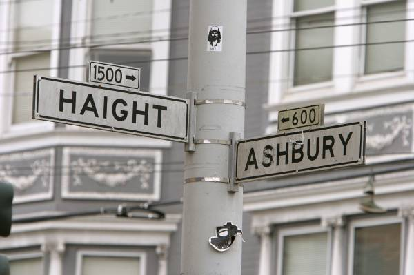 haight ashbury sign photo