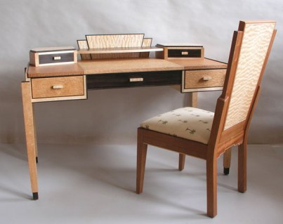 art_deco_desk_chair_set
