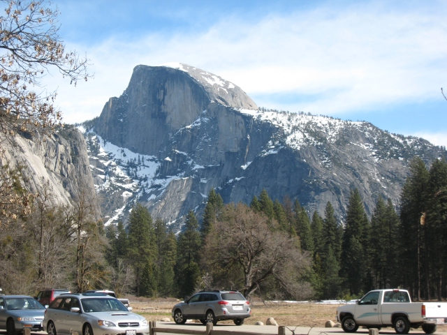 As close as I got to Half Dome in March 2011