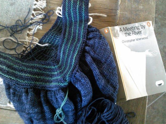 Yarn Along 4.16.14