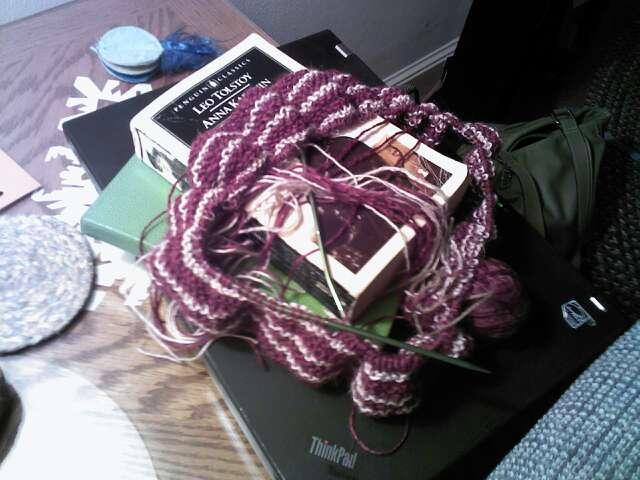 Yarn Along 6.11.14