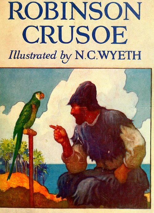 final thoughts on robinson crusoe by bethany postcards from when i was about thirty pages away from the ending my boss saw me reading robinson crusoe and asked if i thought her eleven year old son would like it