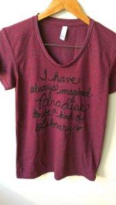 borges tshirt
