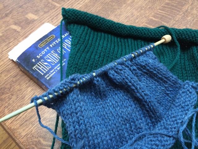 Yarn Along 11.12.14