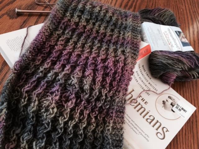 Yarn Along 2 3.3.15