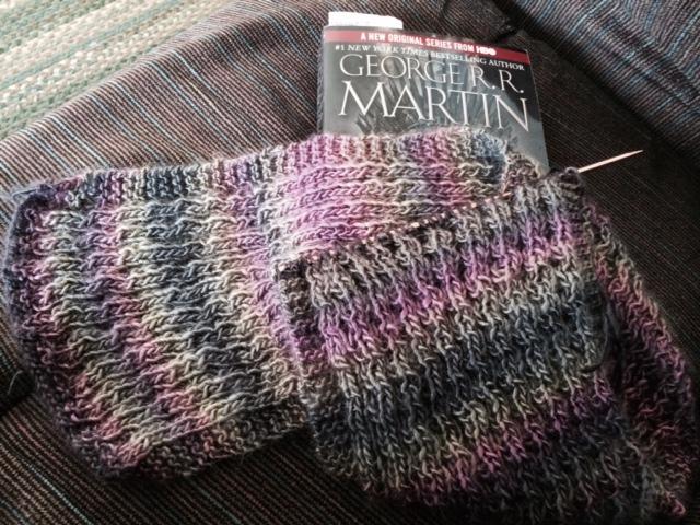 Yarn Along 3.25.15