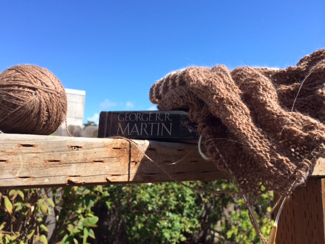 Yarn Along photo 4.8.15