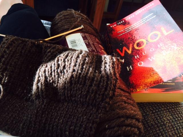 Yarn Along 8.12.15