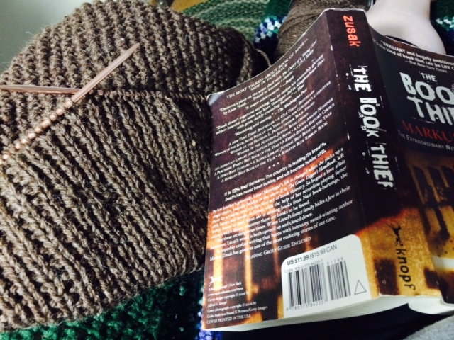 Yarn Along photo 8.19