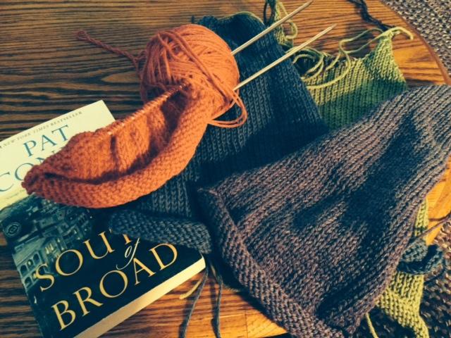 Yarn Along 9.23.15