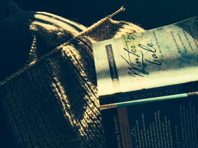 Yarn Along photo 12.16.15