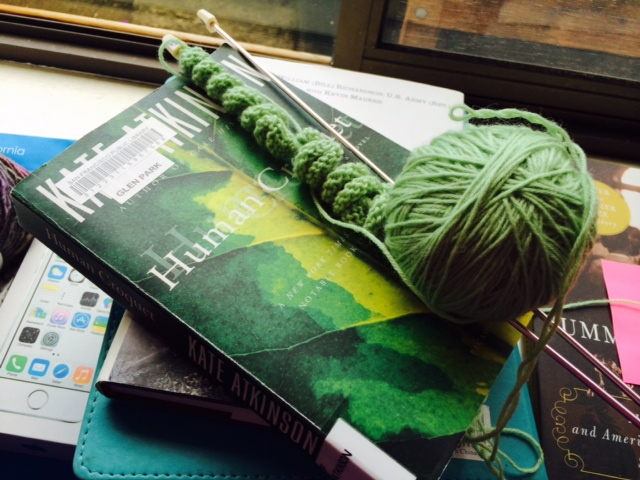 Yarn Along photo 2.3.16