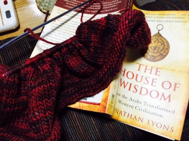 Yarn Along Photo 5.18.16