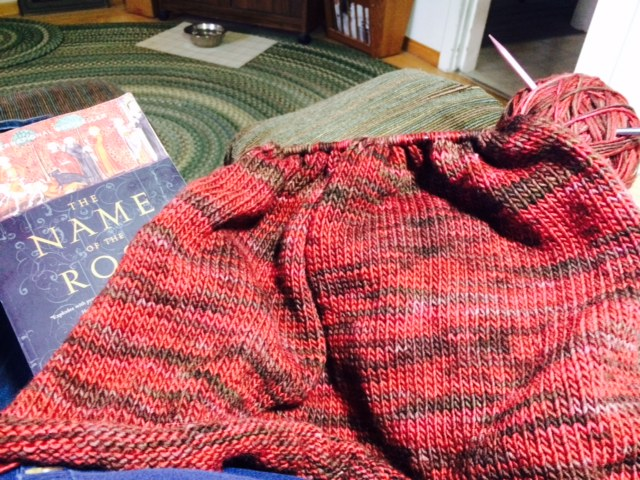 Yarn Along photo 5.25.16