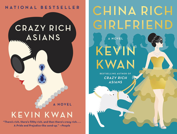 Crazy rich and china rich covers